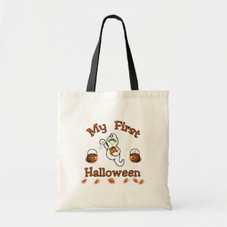 Baby's First Halloween bag