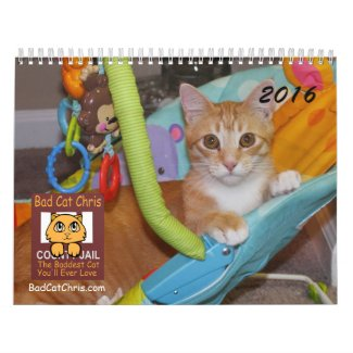 Bad Cat Chris Calendar