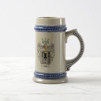 Baker Coat of Arms Beer Stein Mug