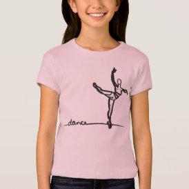 Ballet Dance Tee (Kids)