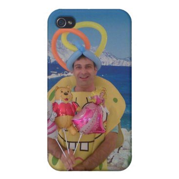Balloon Animations Cover For iPhone 4