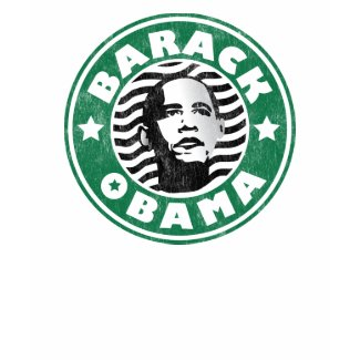 Barack Obama Star Caffeine shirt