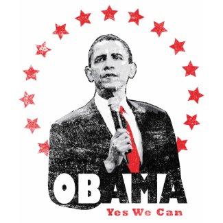 Barack Obama - Yes We Can shirt