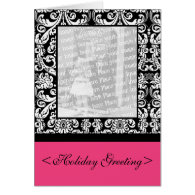Baroque Damask Greeting Card