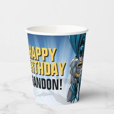 Batman | Happy Birthday  Paper Cups