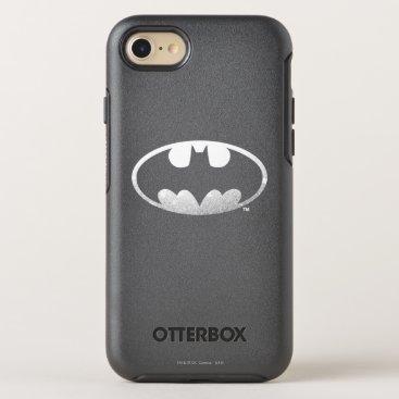 Batman Symbol   Grainy Logo OtterBox Symmetry iPhone 7 Case
