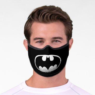 Batman Symbol | Grainy Logo Premium Face Mask