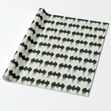 Batman Symbol | Spraypaint Logo Wrapping Paper