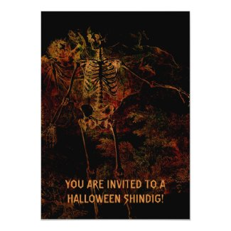 Be Afraid, Be Very Afraid! 5x7 Paper Invitation Card