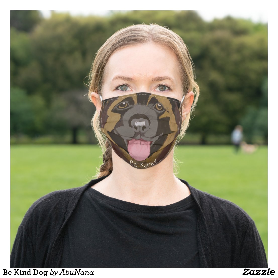 Be Kind Dog Cloth Face Mask