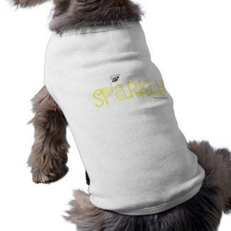 Be Sparkly - A Positive Word petshirt