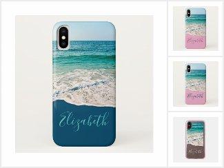 Beach and Ocean-Themed Phone Cases