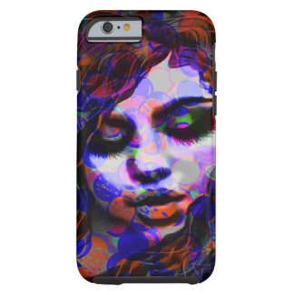 Beautiful Abstract Woman Art Iphone6 Shell