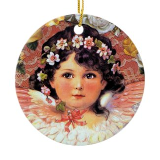 Beautiful Angel Child Ornament ornament