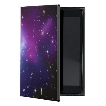 Beautiful cosmic space galaxy clusters iPad mini cover