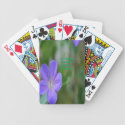 beautiful flowers bicycle card decks