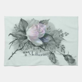 Beautiful Flowers for Mother's Day Kitchen Towels
