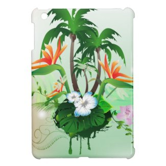 Beautiful flowers iPad mini case