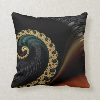 Beautiful Fractal Art Pillows