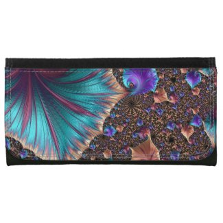 Beautiful Fractal Art Wallets
