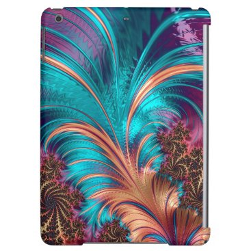 Beautiful Fractal Feather Design iPad Air Cover
