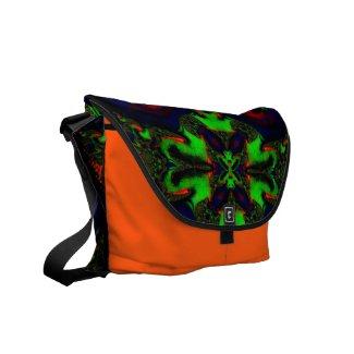 Beautiful Fractal/kaleidoscope Messenger Bags