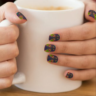 Beautiful Fractal Pattern Minx Nail Wraps Minx® Nail Art
