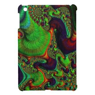 Beautiful Fractal Swirls Cover For The iPad Mini