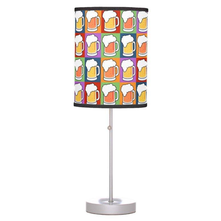 BEER Pop Art lamps