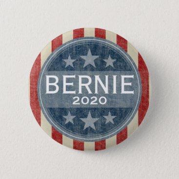 Bernie Sanders 2020 - vintage stars and stripes Button