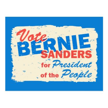 Bernie Sanders President of the People V5 Postcard