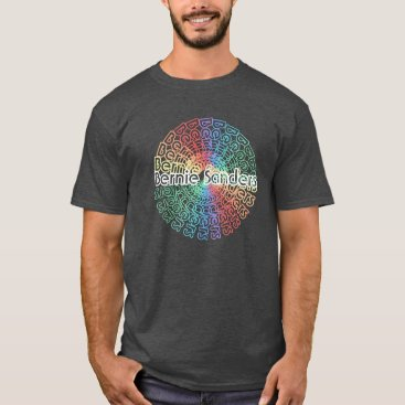 Bernie Sanders Shirt v.4 | Retro Circle Colorburst