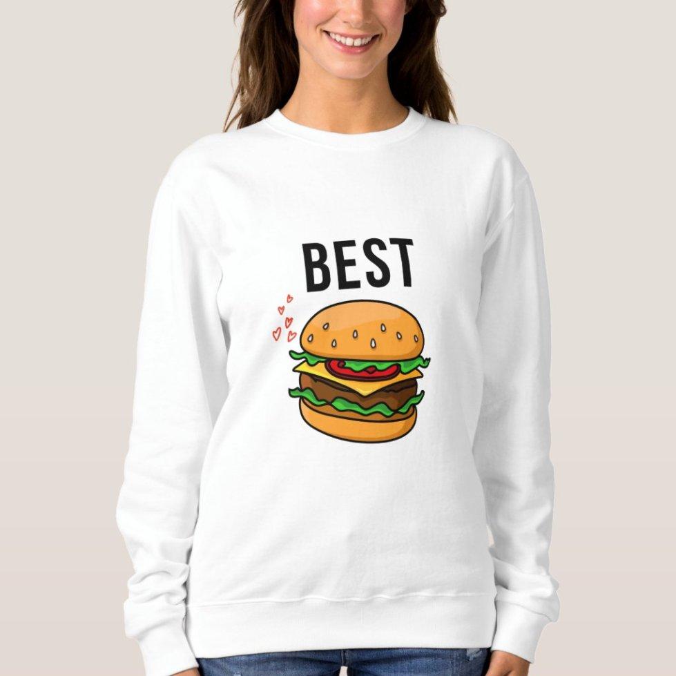 Matching Best Friend Sweatshirt For 2