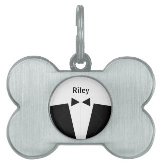 Best Man Pet ID Tags