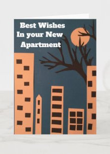 Best Wishes New House Cards Zazzle
