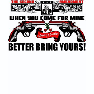 Better Bring Yours! zazzle_shirt