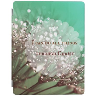 Bible Verse: I can do all things through Christ iPad Smart Cover