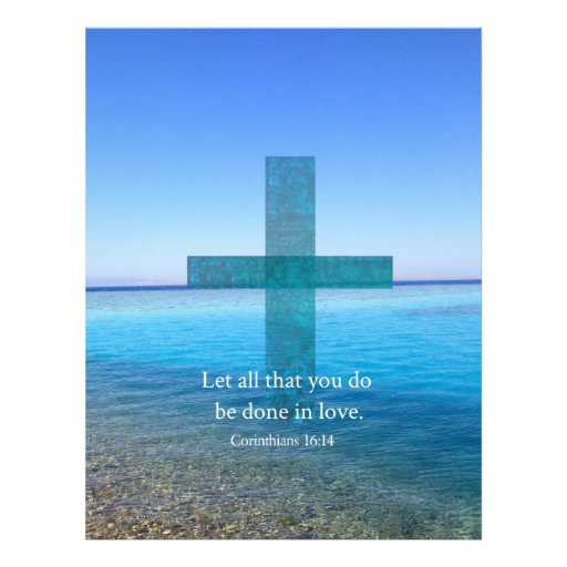 Download BIBLE VERSE - Let all that you do be done in love ...