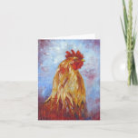 Big Boy Rooster Note Card