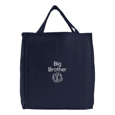Big Brother - Embroidered Bag