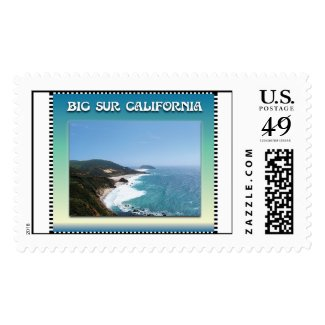 Big Sur California Coast Postage Stamps