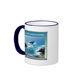 Big Sur California Coffee Mugs