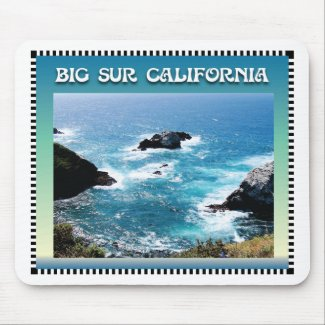 Big Sur California Mouse Pads