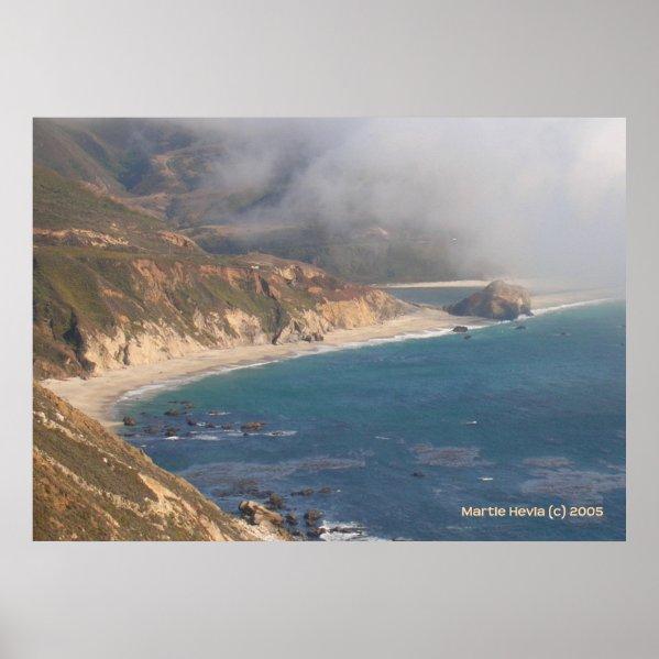 Big Sur Rocky Beach print