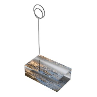 Big Sur Rocky Coast - Table Card Holder