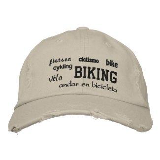 Biking - Embroidered Hat
