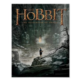 Bilbo at Erebor Print