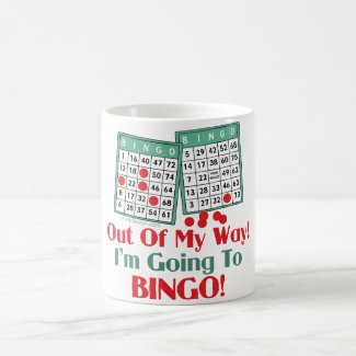 Bingo Funny Saying Coffee Mug
