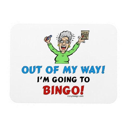 Bingo Lovers Magnet