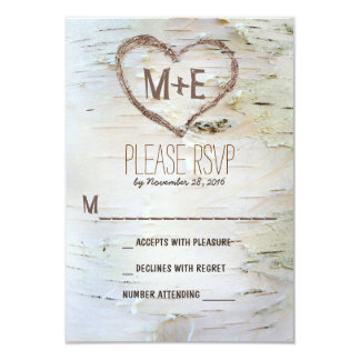 How Fantastic Are These Birch Tree Invitations This Invite Is Printed On Cake Wedding